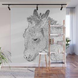 donkey Wall Mural