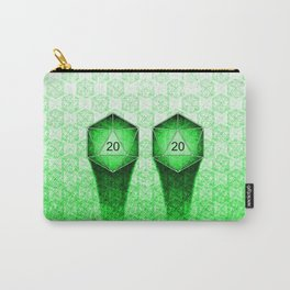 D20 All I Do Is Crit! Natural 20's Pervert Version Carry-All Pouch