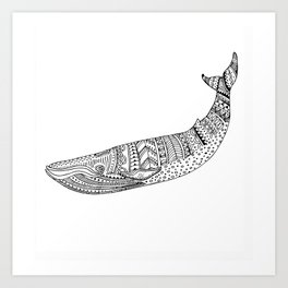 brightness's seal - sea dog. Art Print