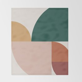 Abstract Geometric 11 Throw Blanket
