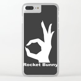 Rocket Bunny Clear iPhone Case