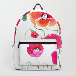 Wild Poppies Light Backpack