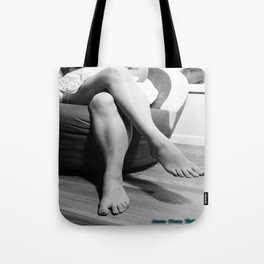 Frog and Legs Tote Bag