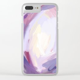 Brooding Clear iPhone Case