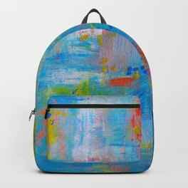 Colorful Abstract Wall Art, Vibrant colors, Contemporary home decor Backpack