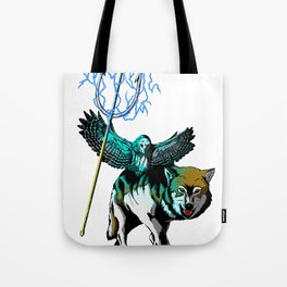 OWL WOLF ALLIANCE 2  Tote Bag