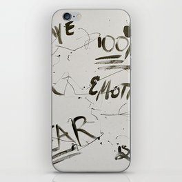 Fear is Fake iPhone Skin