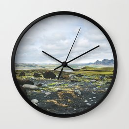 Volcanic Landscape Wall Clock