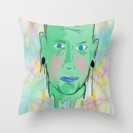 Open your mind. Throw Pillow