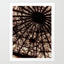 Skylight Art Print