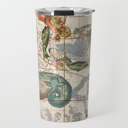 Vintage Constellation Map - Star Atlas Travel Mug