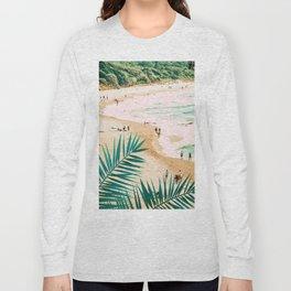 Beach Weekend #digitalart #nature Long Sleeve T-shirt