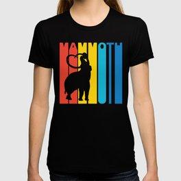 Retro 1970's Style Woolly Mammoth T-shirt