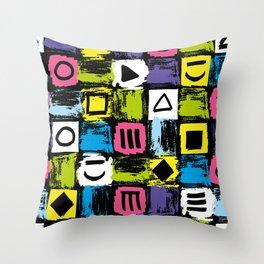 Fashion Patterns Shell-Shocked Throw Pillow