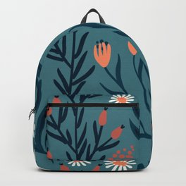 HAND PAINTED AUTUMN / SPRING FLORAL BOUQUETS Backpack