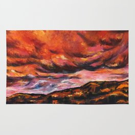 July in New Mexico Rug