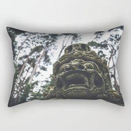 Balinese Mask Rectangular Pillow