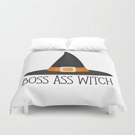 Boss Ass Witch Duvet Cover