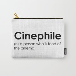 cinephile Carry-All Pouch