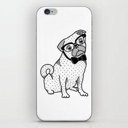 Diplomatic Pug iPhone Skin