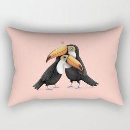 Toucan Love Rectangular Pillow
