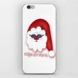 Christmas Santa CB iPhone Skin