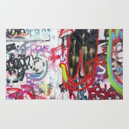 Colorful Graffiti Rug