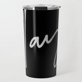 Slay (black) Travel Mug