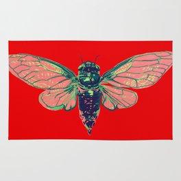 17 Year Cicada Rug