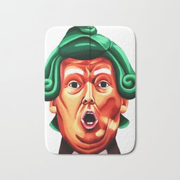 Oompa Loompa Trump Bath Mat