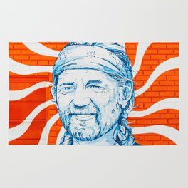Willie For President Rug