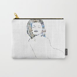 Marilyn Monroe Outlined Carry-All Pouch