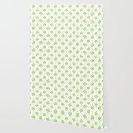 Four Leaf Clover Pattern Wallpaper