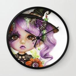 HALLOWEEN HANNAH Wall Clock