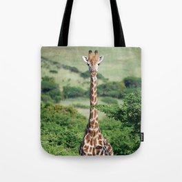 Giraffe Standing tall Tote Bag