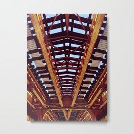 Chicago Railway Metal Print
