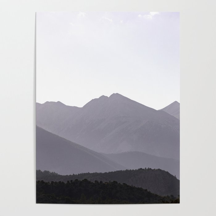 Rocky Mountain Sunset - Colorado Nature Photography Poster