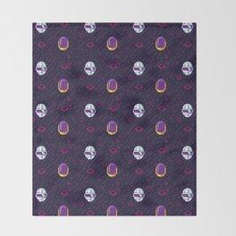 Daft Punk Pattern Throw Blanket