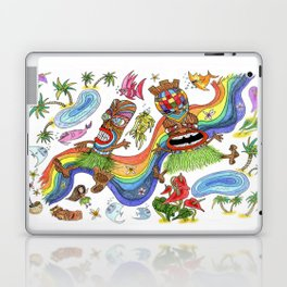 Hawaiian Tiki Play Date Laptop & iPad Skin
