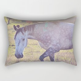Star Horse Rectangular Pillow