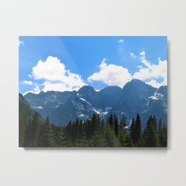 tatry  mountains Metal Print