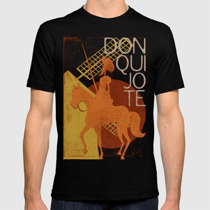 Books Collection: Don Quixote T-shirt