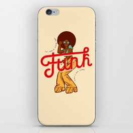 Funk Girl iPhone Skin
