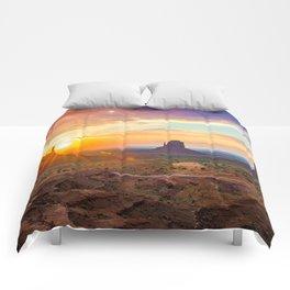 Monument Valley Comforters