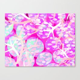 Pink Staghorn Canvas Print