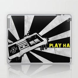 PLAY HARD Laptop & iPad Skin