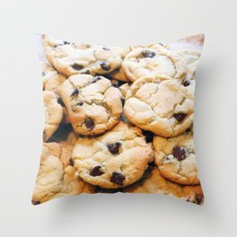 Chocolate Chip Cookies Throw Pillow