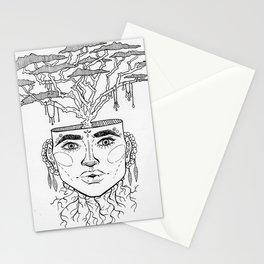 Tree Brain Stationery Cards