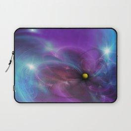 Gravitational Distort Space Abstract Art Laptop Sleeve