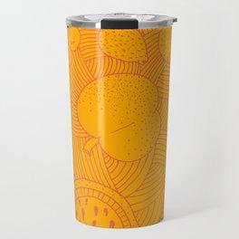 Fruit Sunset Travel Mug